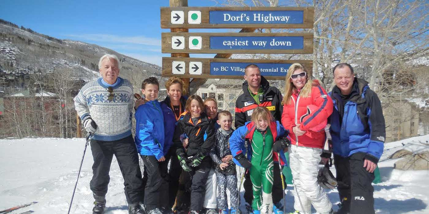 Orthopedic Specialist Family Skiing in Colorado